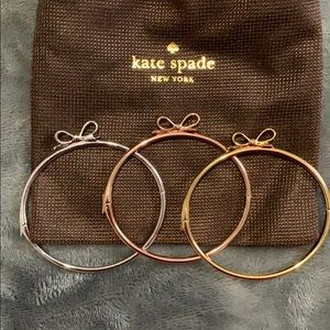 Kate Spade Bow Bangles